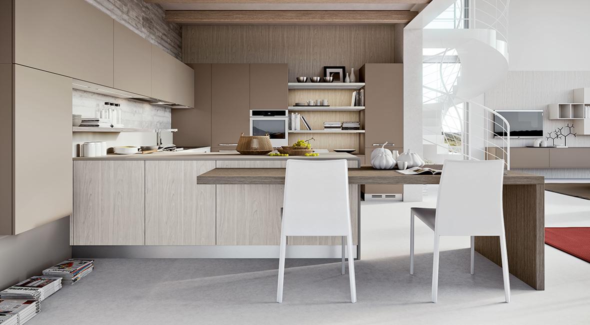cuisine luna, cuisine ouverte, cuisine originale - cuisine arredo