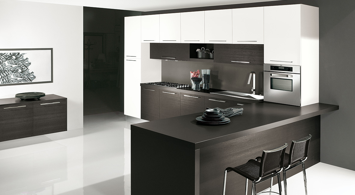 Cuisine arredo onda cuisine ouverte cuisine design for Cuisine en l moderne