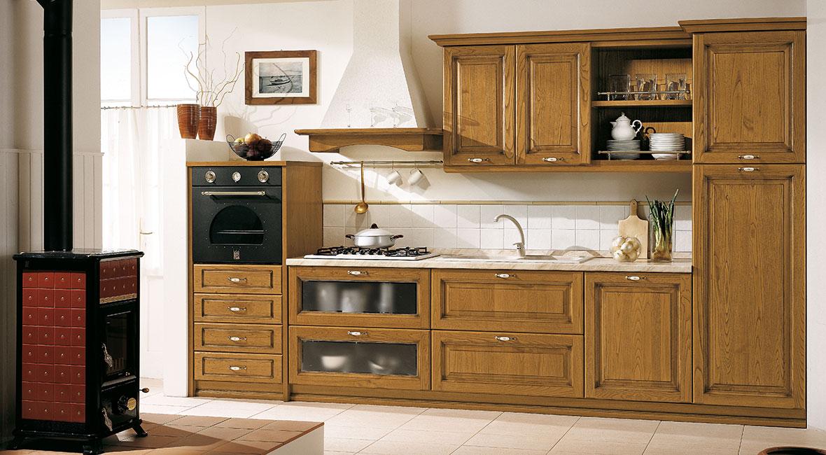 Cuisine arredo diana cuisine quip e cuisine bois massif for Cuisine equipee classique
