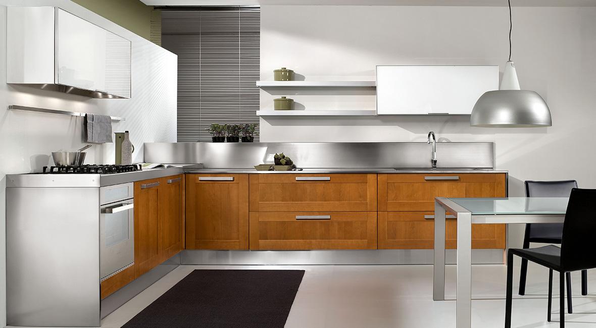 Cuisine arredo stella cuisine sur mesure cuisine quip e - Cucine in ciliegio moderne ...